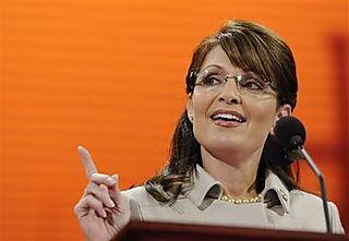 Palin after speech