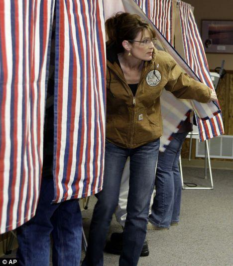 Palin voting