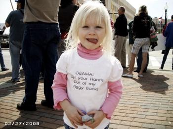 Tea party - child