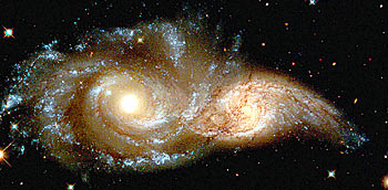 Hubble space photography