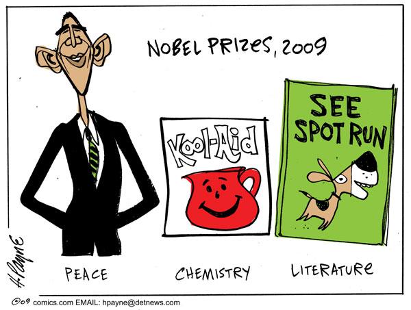 Obama peace prize 2