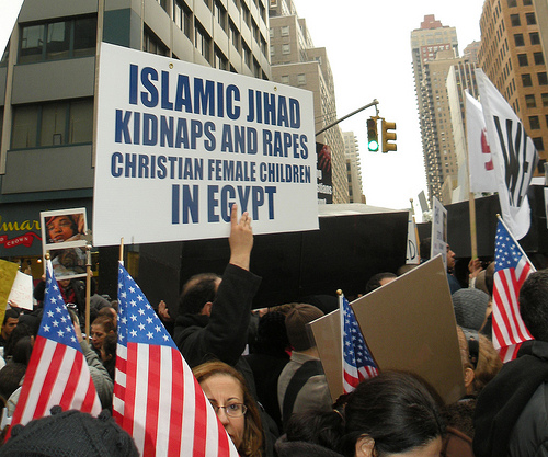 Copts protest 1