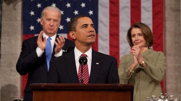 Obama's chin