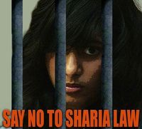 Rifqa barry - say no to sharia law