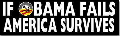 Bumper - obama fails usa survives