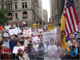 9-11 mosque protest