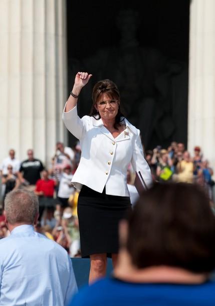 Palin at beck