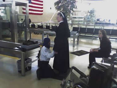 Searching a nun