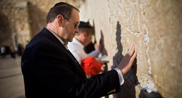 Huckabee in Israel