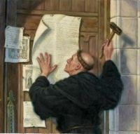 Luther on 95 theses