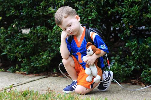 Tebow sick little boy