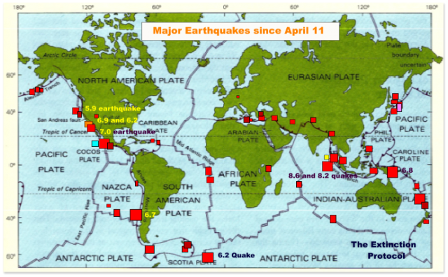 Earthquakes since 41112
