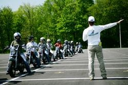 Motorcycle safety school