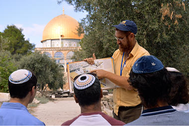 Jews and temple mount