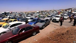 Iraq christians flee