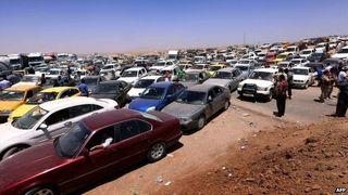 Iraq christians flee