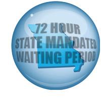 72 hours wait