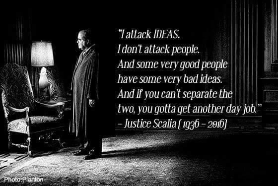 Scalia statement
