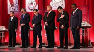 Gop men at prayer
