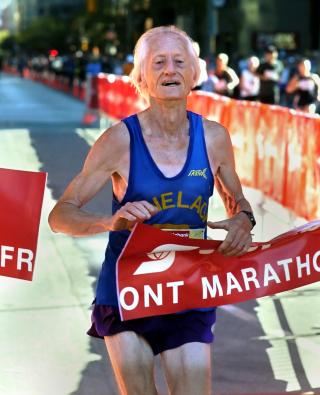 85 year old runner