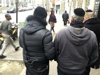 Jews flee paris