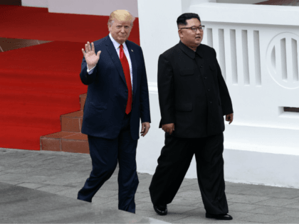 Trump & kim unproportioned