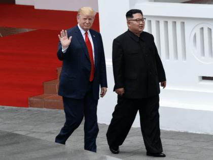 Trump & kim unproportioned