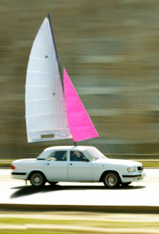 Car_sailboat